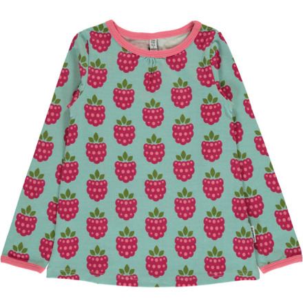 Maxomorra A-Line Top LS Raspberry