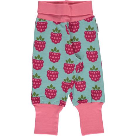 Maxomorra Rib Pants Raspberry