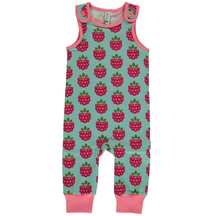 Maxomorra Playsuit Raspberry