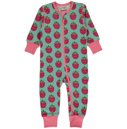 Maxomorra Pyjamas LS Raspberry