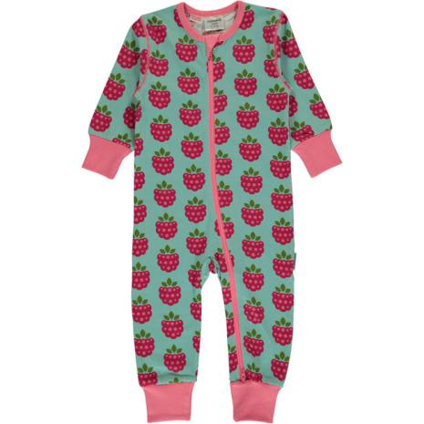 Maxomorra Pyjamas LS Raspberry