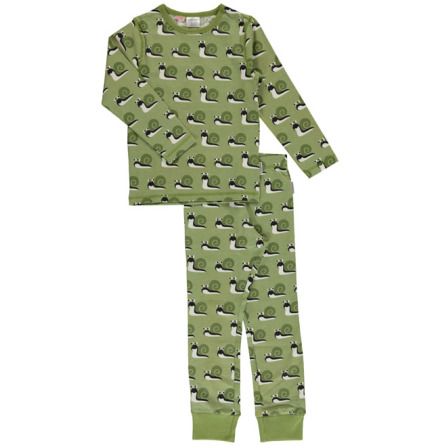 Maxomorra Pyjamas Set LS Snail