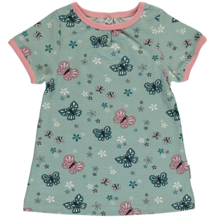 Maxomorra Top A-line SS Butterfly