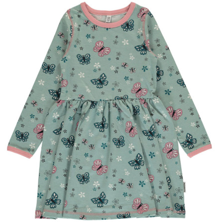 Maxomorra Dress SS Butterfly