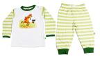 Sture & Lisa Mamma Mu Pyjamas Set Green