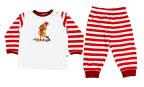 Sture & Lisa Mamma Mu Pyjamas Set Red