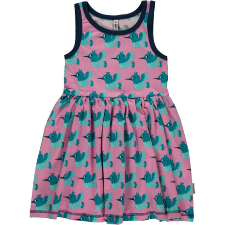 Maxomorra Dress Spin hummingbird