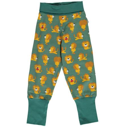 Maxomorra Rib Pants Lion