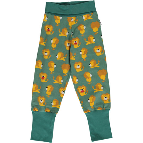 Maxomorra Rib Pants Lion