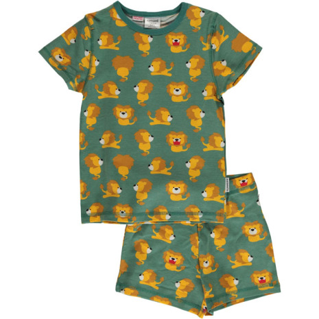 Maxomorra Pyjamas Set SS Lion