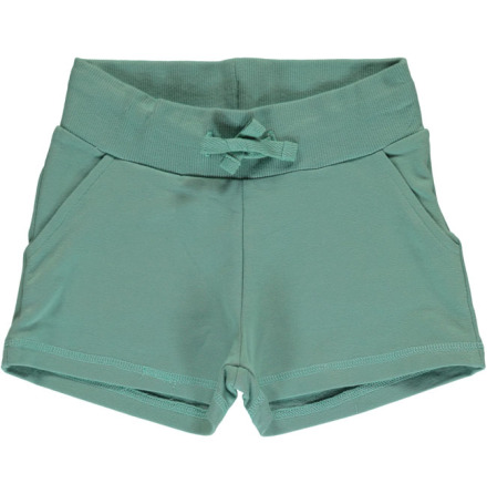 Maxomorra Sweatshorts Pale Army