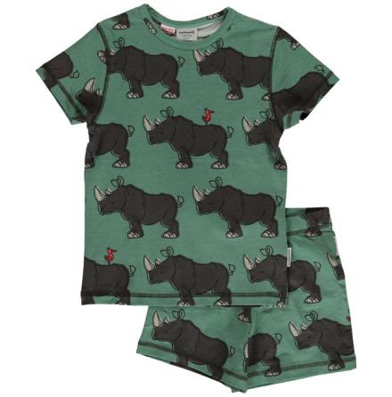 Maxomorra Pyjamas Set SS Rhino