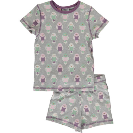 Maxomorra Pyjamas Set SS Budgie