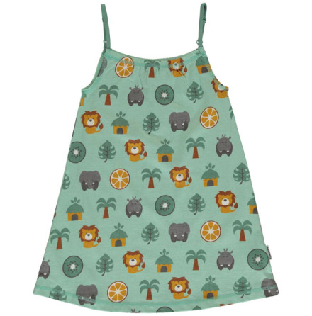 Maxomorra Dress Spaghetti Jungle