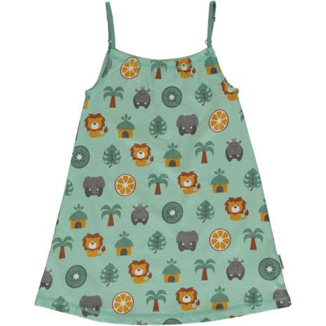 Maxomorra Dress Spaghetti Jungle