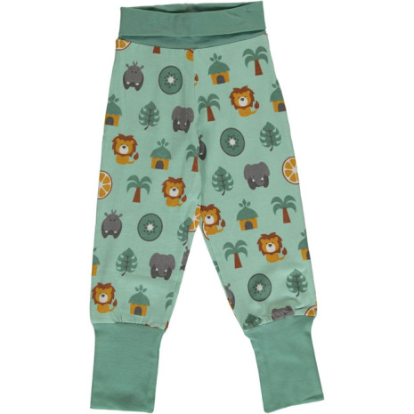Maxomorra Rib Pants Jungle