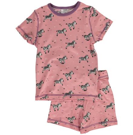 Maxomorra Pyjamas Set SS Zebra