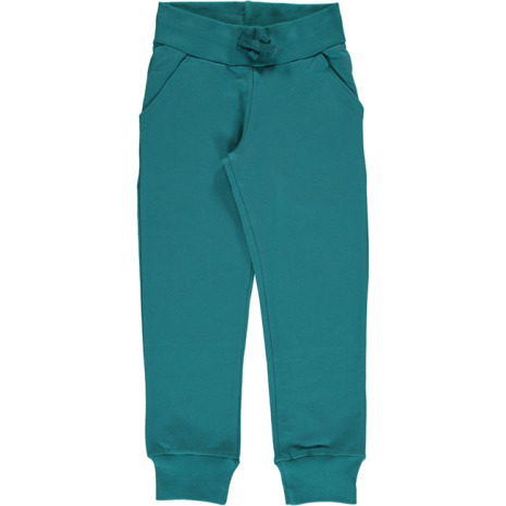 Maxomorra Sweatpants Soft Petrol