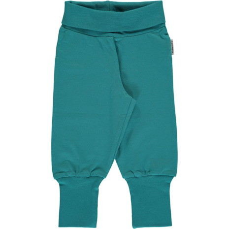 Maxomorra Babypants Soft Petrol