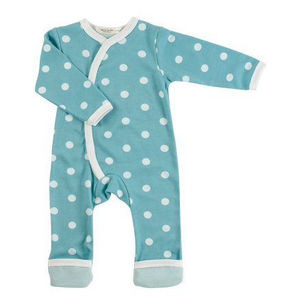 Pigeon Organics Pyjamas Spotty Blue