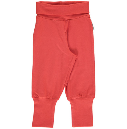 Maxomorra Babypants Rusty Red