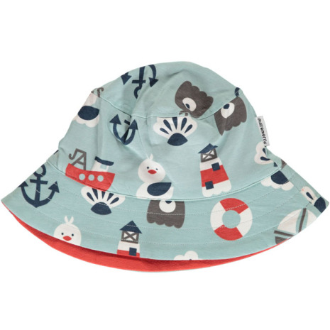 Maxomorra Sun Hat Blue Ocean