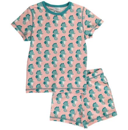 Maxomorra Pyjamas Set SS Seahorse