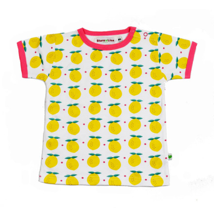 Sture & Lisa T-shirt Lemon