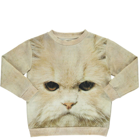 Popupshop Loose Sweat Cat