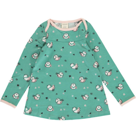 Maxomorra Top Flare LS Little Sparrow