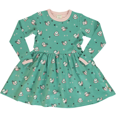 Maxomorra Dress Spin LS Little Sparrow