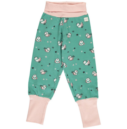Maxomorra Rib Pants Little Sparrow