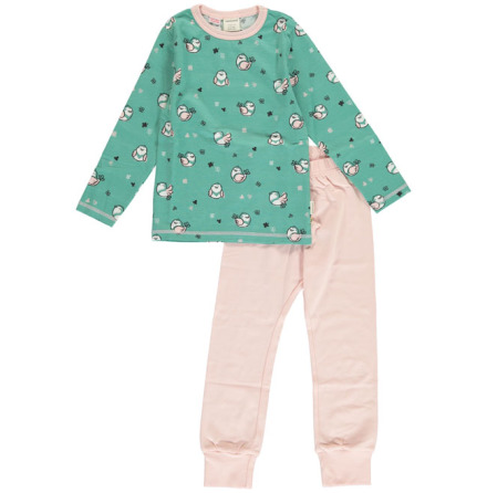 Maxomorra Pyjamas Set LS Little Sparrow