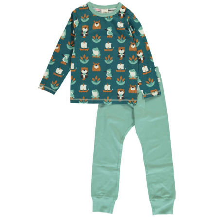 Maxomorra Pyjamas Set LS Lake Life