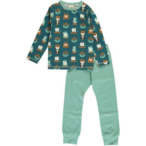 Maxomorra Pyjamas Set LS Lake Life
