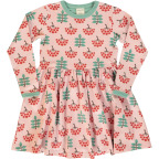 Maxomorra Dress Spin LS Ruby Rowanberry