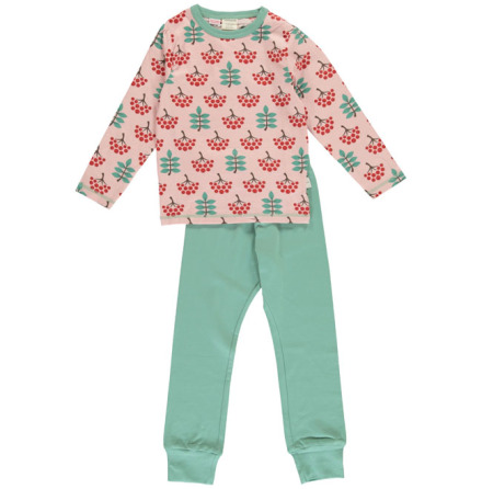 Maxomorra Pyjamas Set LS Ruby Rowanberry