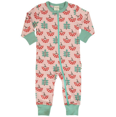 Maxomorra Rompersuit LS Ruby Rowanberry