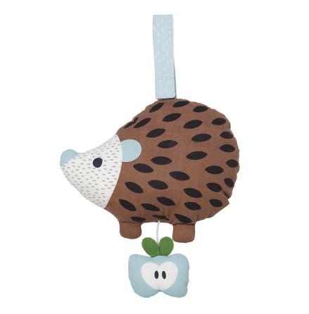 Franck & Fischer Hedgehog brown Musical Toy