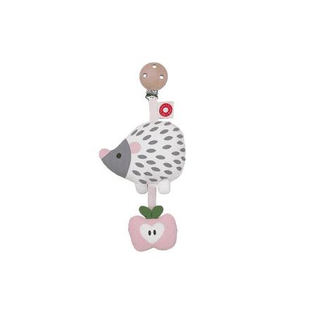 Franck & Fischer Hedgehog white Clip Rattle