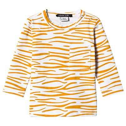 Little LuWi Yellow Tiger LS T-shirt