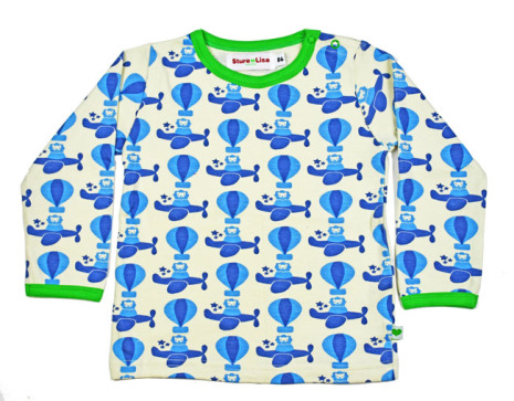 Sture & Lisa T-shirt Toy Airplane