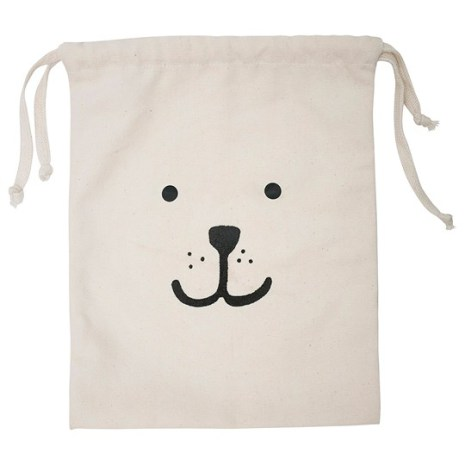 Tellkiddo Fabric Bag Bear Small