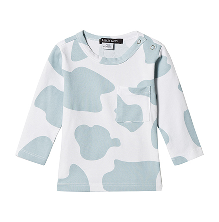 Little LuWi Blue Cow LS T-shirt