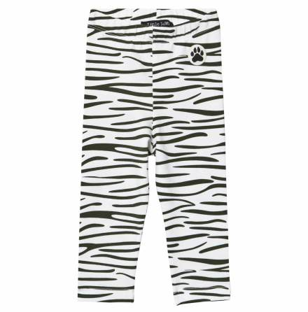 Little LuWi Black Tiger Leggings