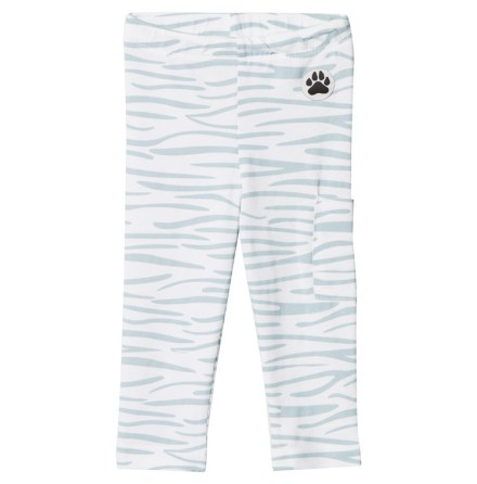 Little LuWi Blue Tiger Leggings