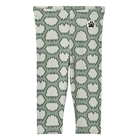 Little LuWi Green Snake Leggings