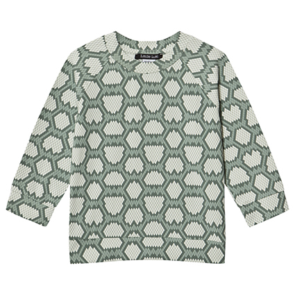 Little LuWi Green Snake Oversize Tee
