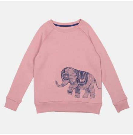 One We Like Rag Elephant Sweatshirt