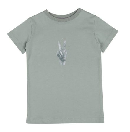 One We Like T-shirt peace green